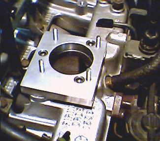 performance gains for you early 4 0for curiosity sake, i placed the very disassembled ho throttle body casting on the adapter here\u0027s what it looked like so far